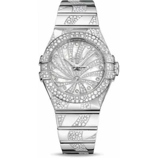 Omega Constellation Luxury Edition Chronometer 123.55.31.20.55.009
