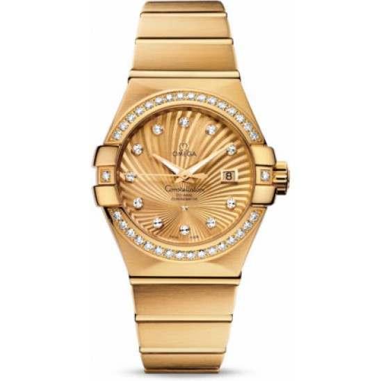 Omega Constellation Brushed Chronometer 123.55.31.20.58.001