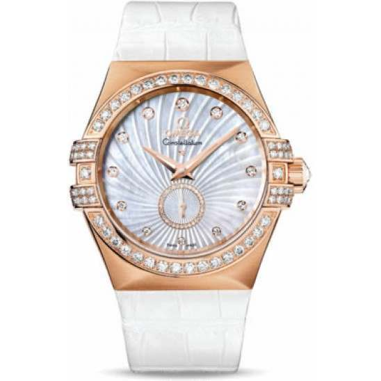 Omega Constellation Small Seconds Chronometer 123.58.35.20.55.001