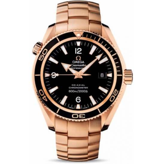 Omega Seamaster Planet Ocean Chronometer 222.60.42.20.01.001