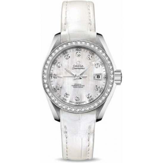Omega Seamaster Aqua Terra Jewellery Chronometer 231.18.30.20.55.001