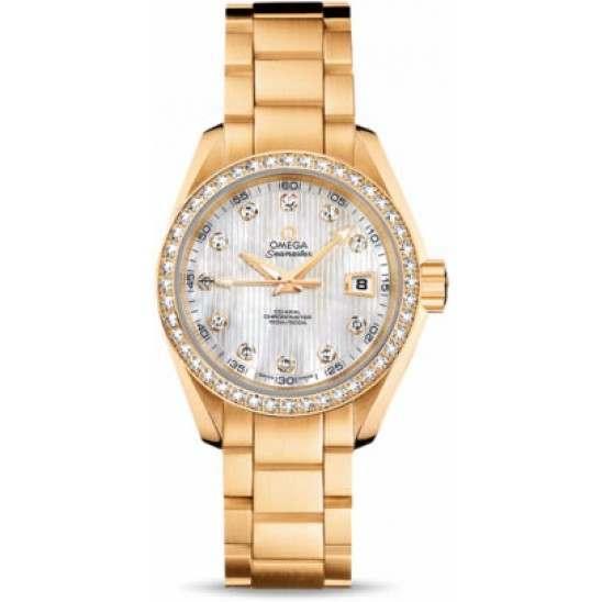 Omega Seamaster Aqua Terra Jewellery Chronometer 231.55.30.20.55.002