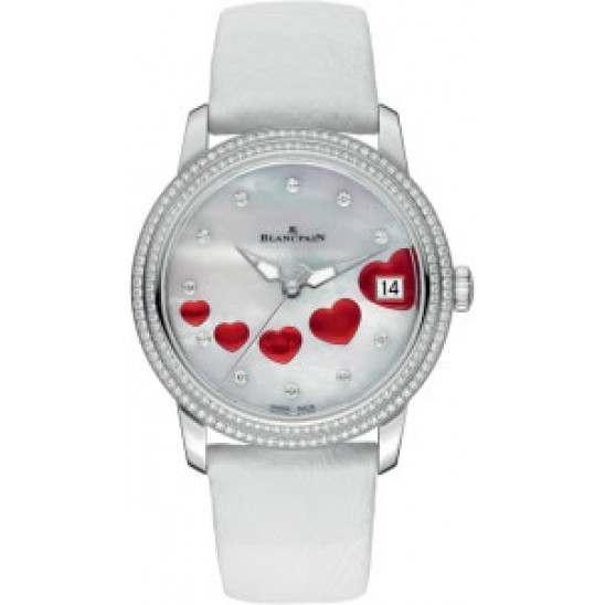 Blancpain Women Ultraplate Saint Valentin 2013 3400-4554-58B