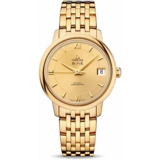 Omega De Ville Prestige Co-Axial Chronometer 424.50.33.20.08.001