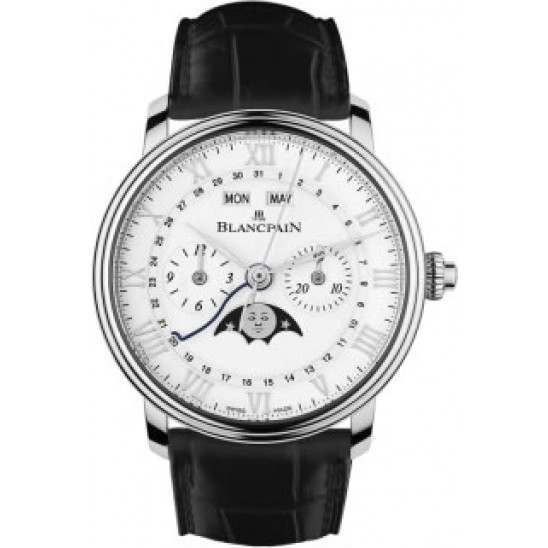 Blancpain Villeret Single-Pusher Chronograph 6685-1127-55B