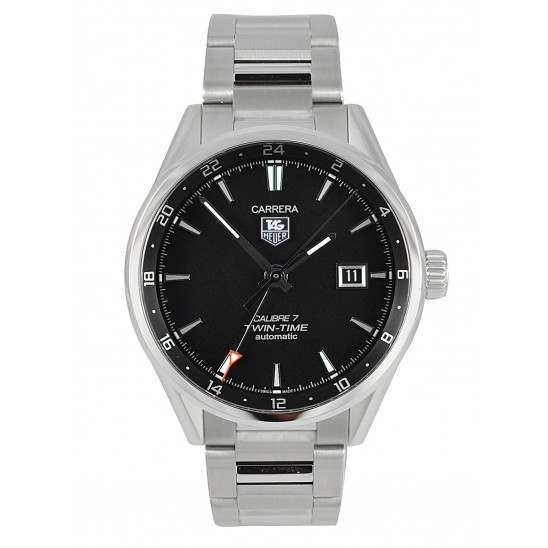 Tag Heuer Carrera Twin Time Caliber 7 Automatic WAR2010.BA0723