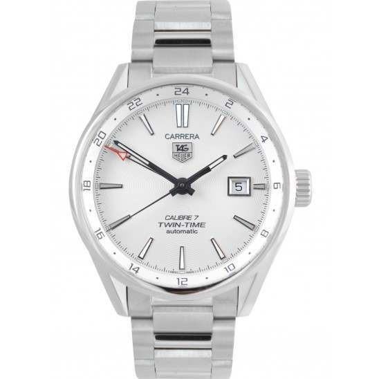 Tag Heuer Carrera Twin Time Caliber 7 Automatic WAR2011.BA0723