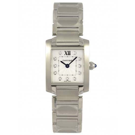 Cartier Tank Francaise Small Steel (WE110006)