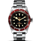"Tudor Heritage Black Bay Red ""Rivet"" Steel Bracelet 79230R"
