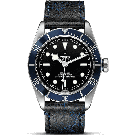 Tudor Heritage Black Bay Blue Leather 79230B