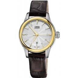 Oris Artelier Date, Diamonds 01 561 7687 4351-07 5 14 70FC