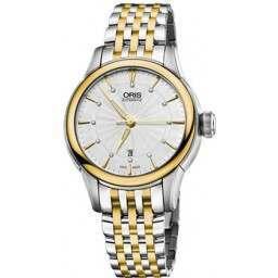 Oris Artelier Date, Diamonds 01 561 7687 4351-07 8 14 78