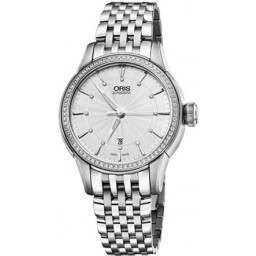 Oris Artelier Date, Diamonds 01 561 7687 4951-07 8 14 77