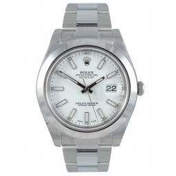 Rolex Datejust II White/index Oyster 116300