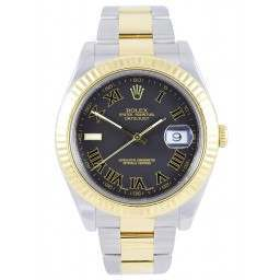 Rolex DateJust II Grey Roman 116333