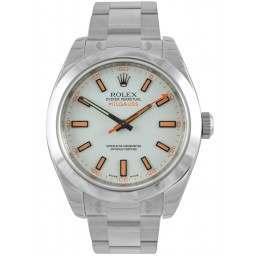 Rolex Milgauss White Dial 116400