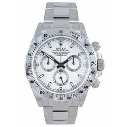 Rolex Cosmograph Daytona Stainless Steel White/index 116520