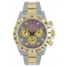 Rolex Cosmograph Daytona Gold Crystals/8 Diamond 116523