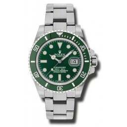 As New Rolex Submariner Green (Hulk) 116610LV