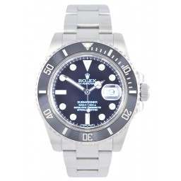 Rolex Submariner Stainless Steel Date Black Dial 116610LN - As New