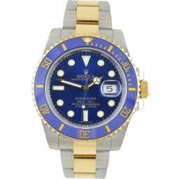 Rolex Submariner Steel and Yellow Gold Blue Dial 116613LB