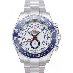 As New Rolex YachtMaster II 116680 w/ Rolex Warranty!