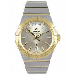 Omega Constellation Day-Date Chronometer 123.20.38.22.02.002