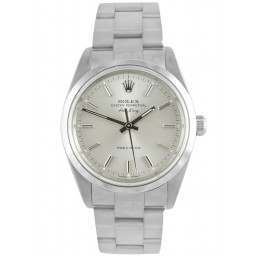 Rolex Air King Silver/ Index Dial 14000M