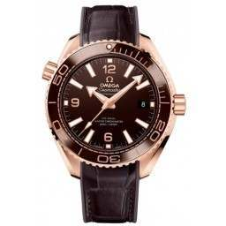 "Omega Seamaster Planet Ocean 600 M ""Chocolate"" 215.63.40.20.13.001"