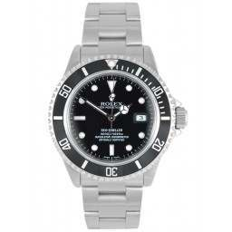 Rolex Seadweller Stainless Steel Black Dial 16600