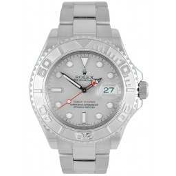 Rolex Yachtmaster Platinum Dial Oyster Bracelet 16622