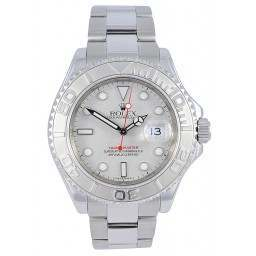 Mint Condition Rolex YachtMaster Platinum Dial - 16622