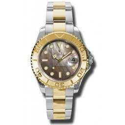 Rolex Yacht-Master 40mm Black Mother of Pearl 16623