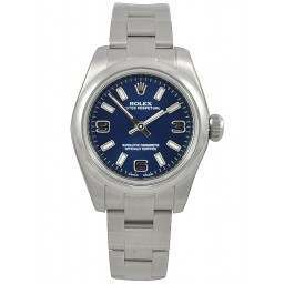 Rolex Perpetual No-Date 26mm Blue Arab Oyster 176200