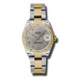 Rolex Datejust 31mm Steel & Yellow Gold Steel Roman Oyster 178313