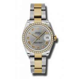 Rolex Lady Datejust 31mm Steel Roman Oyster 178383
