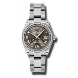 Rolex Lady Datejust 31mm Bronze Roman Oyster 178384