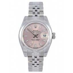 Rolex Lady-Datejust Pink/index Jubilee 179160
