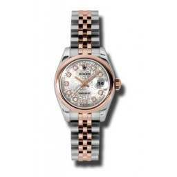 Rolex Lady-Datejust Silver Jub/Diamond Jubilee 179161