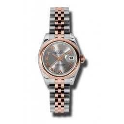 Rolex Lady-Datejust Steel Roman Jubilee 179161