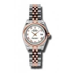 Rolex Lady-Datejust White Roman Jubilee 179161