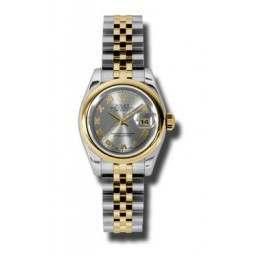 Rolex Lady-Datejust Steel Roman Jubilee 179163