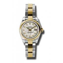 Rolex Lady-Datejust Meteorite/Diamond Oyster 179163