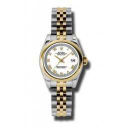 Rolex Lady-Datejust White Roman Jubilee 179163