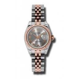 Rolex Lady-Datejust Steel Roman Jubilee 179171