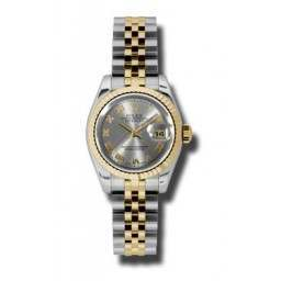 Rolex Lady-Datejust Steel Roman Jubilee 179173