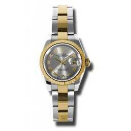Rolex Lady-Datejust Steel Roman Oyster 179173