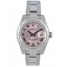 Rolex Lady-Datejust Pink Roman Oyster 179174