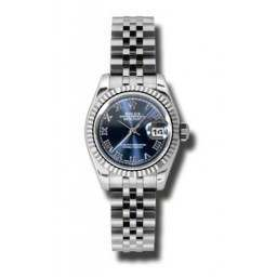 Rolex Lady-Datejust Blue Roman Jubilee 179174