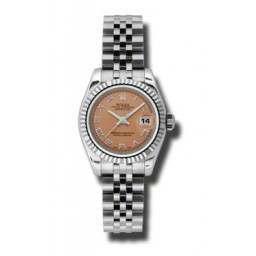 Rolex Lady-Datejust Pink Roman Jubilee 179174
